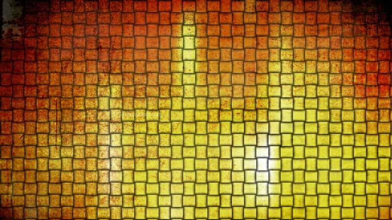 Red and Gold Woven Basket Twill Texture