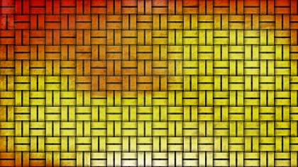 Red and Gold Bamboo Background