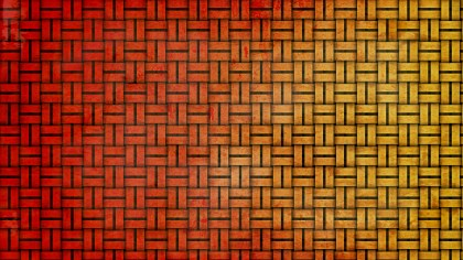 Red and Orange Weave Texture Background
