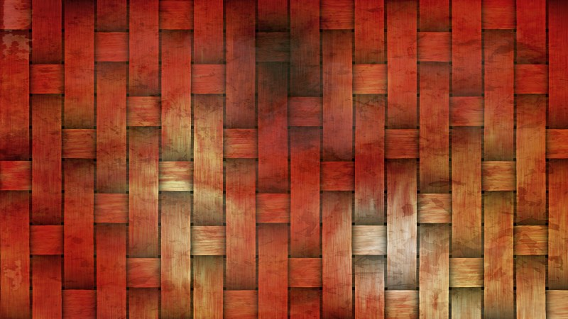 Red and Orange Basket Texture Background