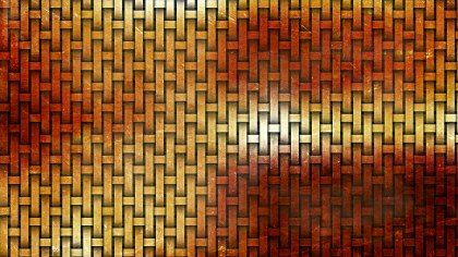 Red and Orange Basket Weave Background