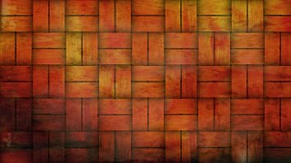 Red and Orange Bamboo Weave Background