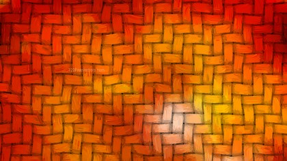 Red and Orange Basket Weave Texture