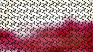 Red and White Bamboo Background