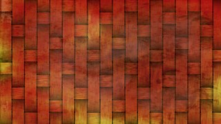 Red and Yellow Wicker Background
