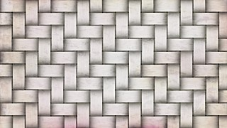 White Bamboo Weave Texture