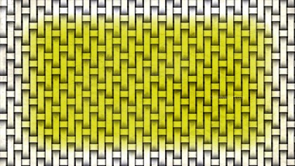 White and Gold Basket Weave Background