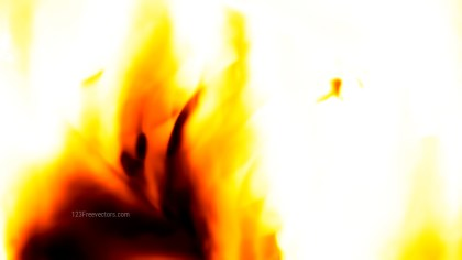 Fire White Background