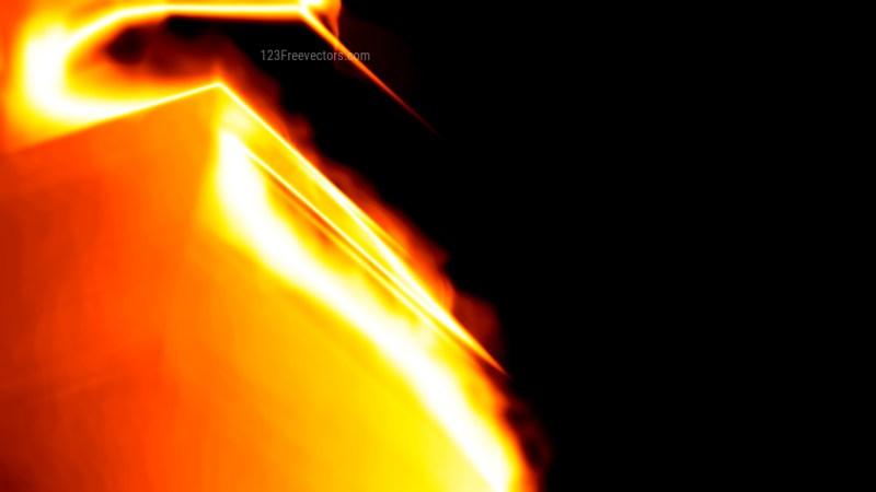 Fire Black Background