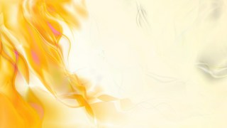 Abstract Orange and White Smoke Background