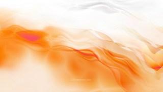 Abstract Orange and White Smokey Background