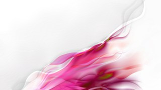 Abstract Pink and White Smoke Background
