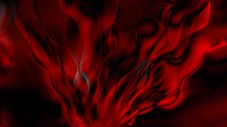 Abstract Red and Black Smokey Background