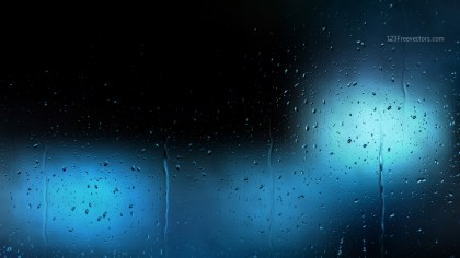 Black and Blue Water Drops Background