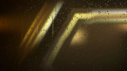 Black and Gold Water Drop Background
