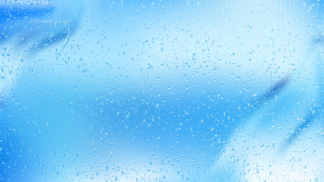 Cool Water Drop Background