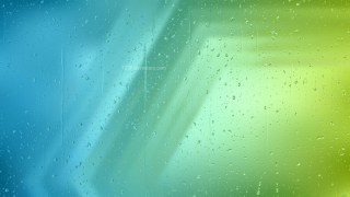 Blue and Green Water Droplet Background