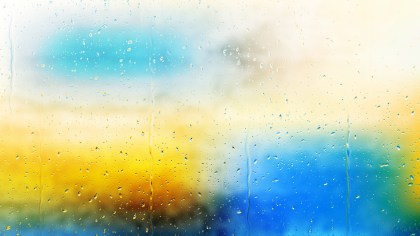 Blue and Orange Watery Background