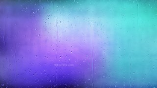 Blue and Purple Rain Water Drops Background