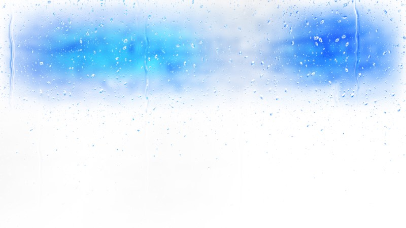 Blue and White Water Drop Background Image