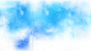 Blue and White Water Drop Background