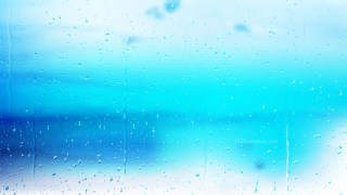 Blue and White Raindrop Background