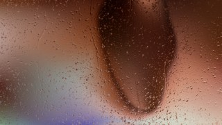 Brown Rain Water Drops Background