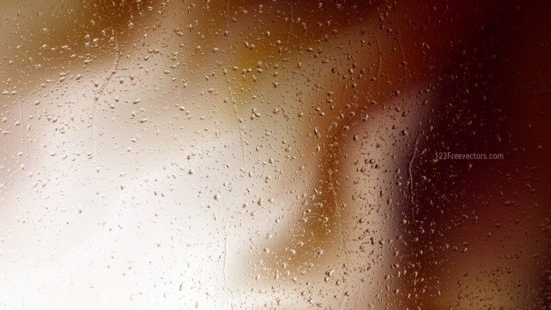 Brown and White Raindrop Background