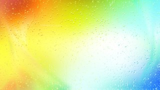 Colorful Raindrop Background Image