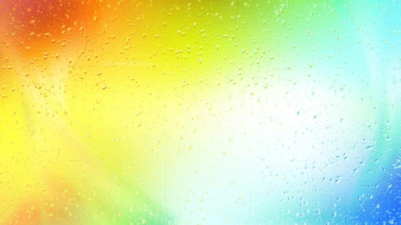Colorful Raindrop Background Image