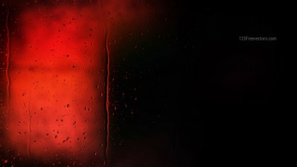 Cool Red Raindrop Background