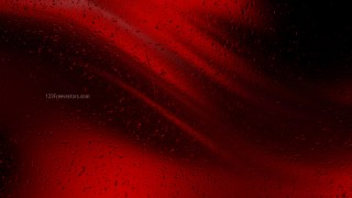 Cool Red Raindrop Background Image