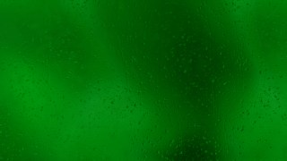 Dark Green Water Droplet Background
