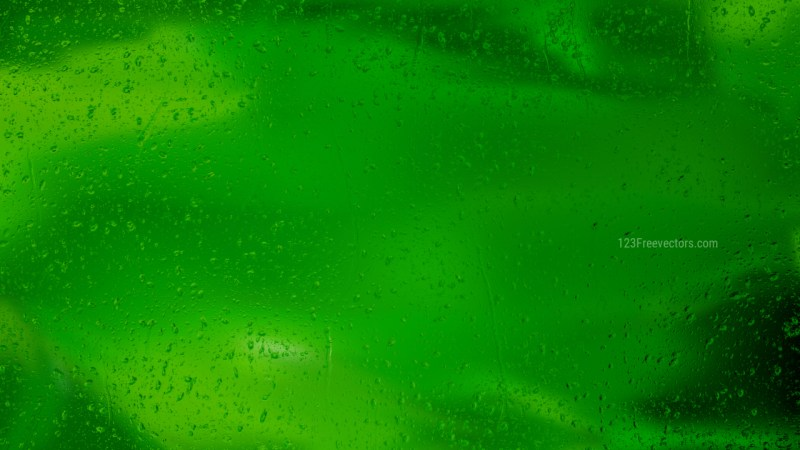 Dark Green Watery Background