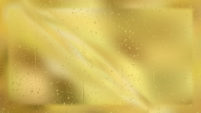 Gold Water Drop Background