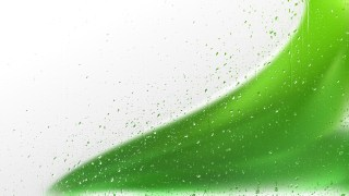 Green Water Drop Background Image