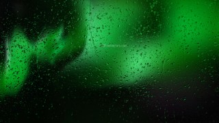Green and Black Raindrop Background Image