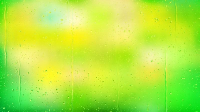 Green and Yellow Water Background Image