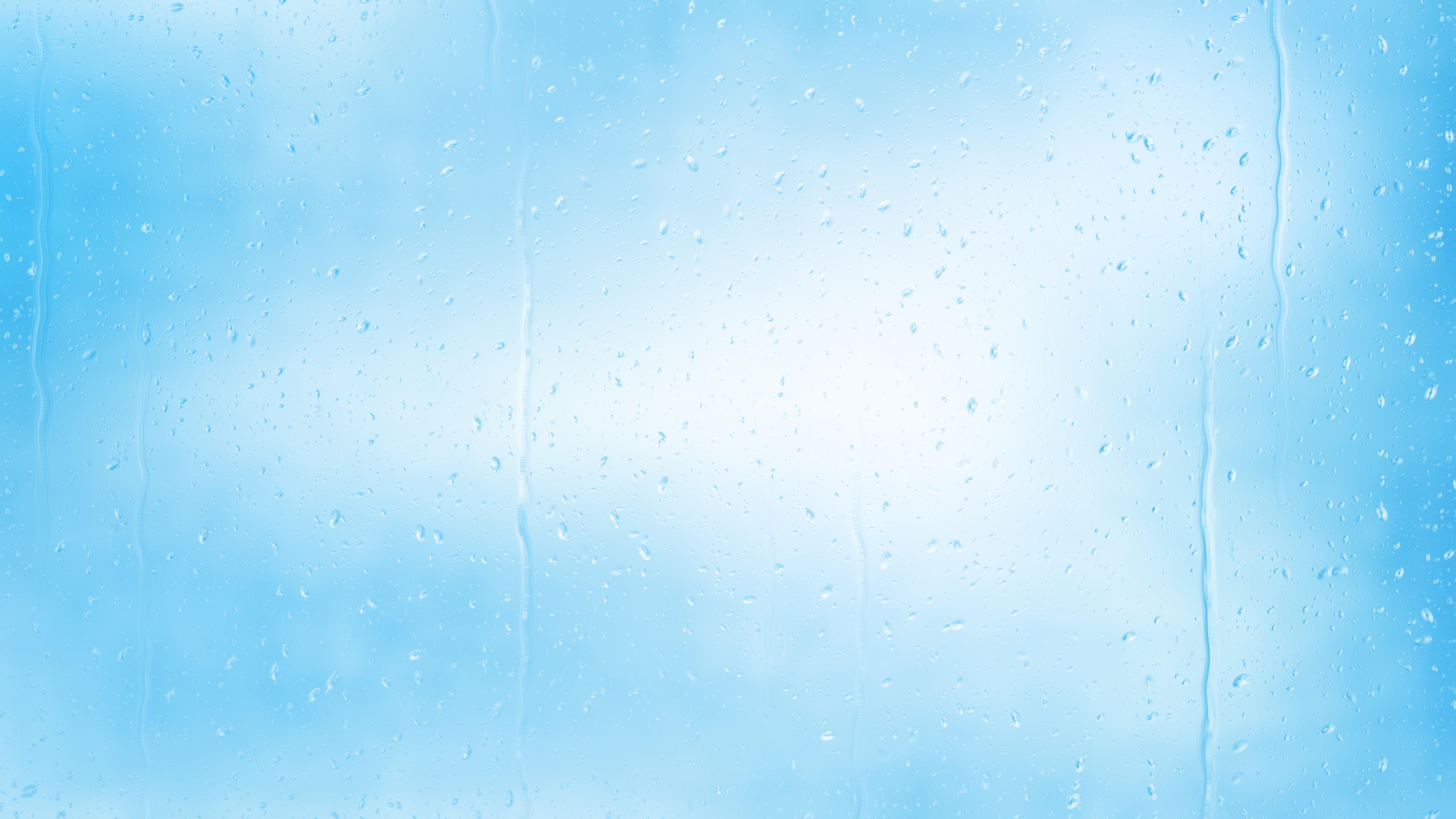 Light Blue Water Drop Background Image