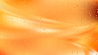 Orange Water Background Image