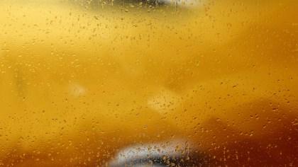 Orange Water Drop Background