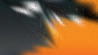 Orange and Black Raindrop Background Image