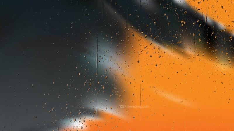 Orange and Black Water Background