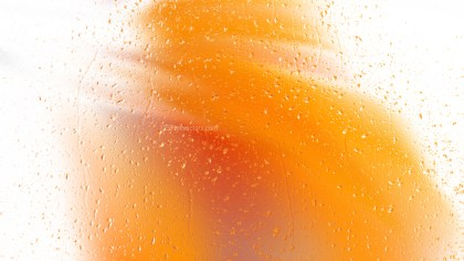 Orange and White Watery Background