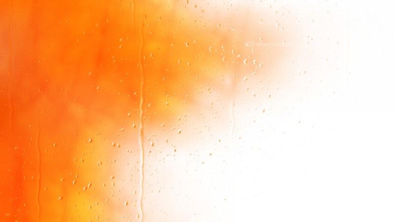 Orange and White Water Background