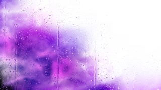 Purple and White Raindrop Background
