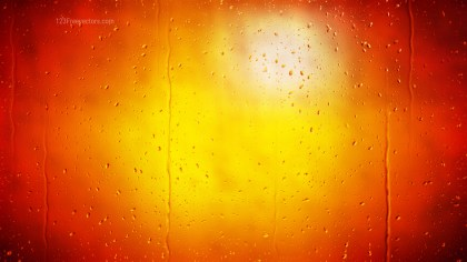 Red and Yellow Water Drop Background Image