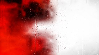 Red Black and White Water Drops Background