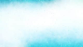 Turquoise and White Raindrop Background