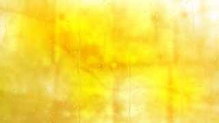 Yellow Water Drops Background Texture